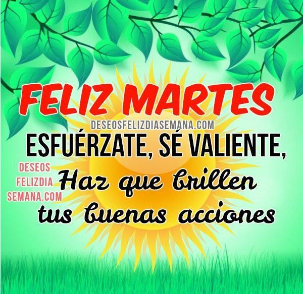Centro Cristiano para la Familia: Feliz Martes  Feliz y Excelente Martes, Que hoy te...