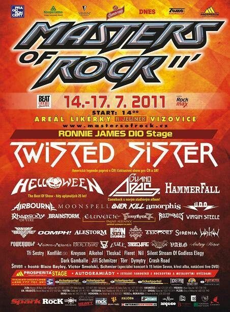 #masters of rock #vizovice