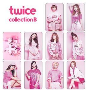 #Twice TWICE Photo Card Sticker Set (10 pack) Collection B