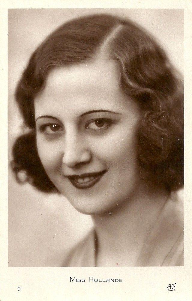 Ретрокрасавицы с конкурса «Мисс Европа — 1930» 6. Мисс Голландия Рие ван дер Рест.