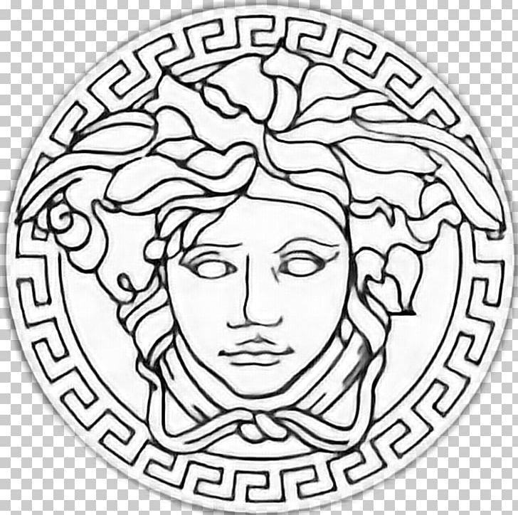Versace Armani Fashion Design Italian Fashion Png Clipart Armani Art Black And White Circle Drawing Free Versace Logo Versace Pattern Versace Background