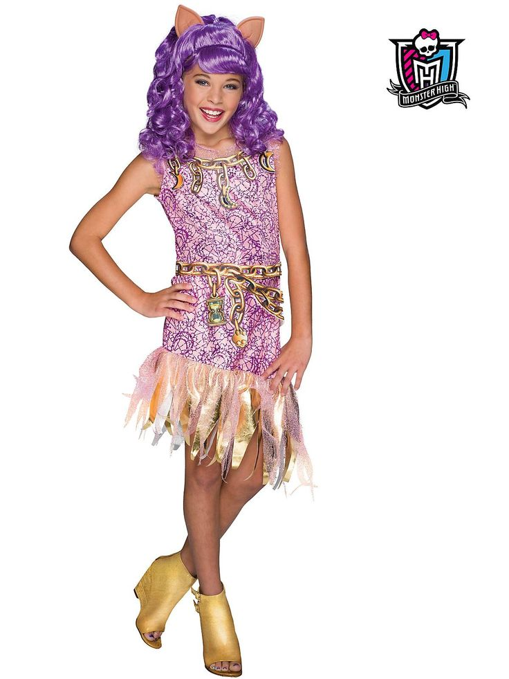 fabulous and totally fun fashionista girls monster high haunted clawdeen wolf costume kids costumes girlskid costumeshalloween - Wolf Halloween Costume Kids