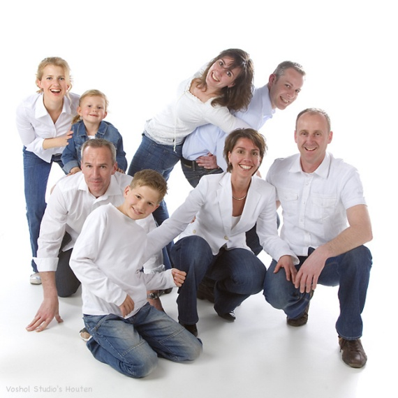 portret - familie | Voshol Studio's in Houten