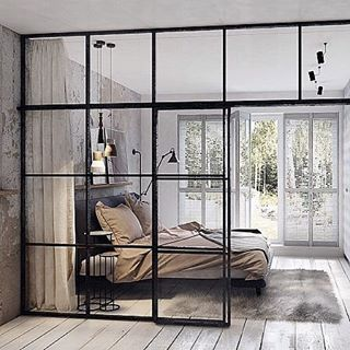 This in the loft but with tinted windows. (@adesignersmind) on Instagram