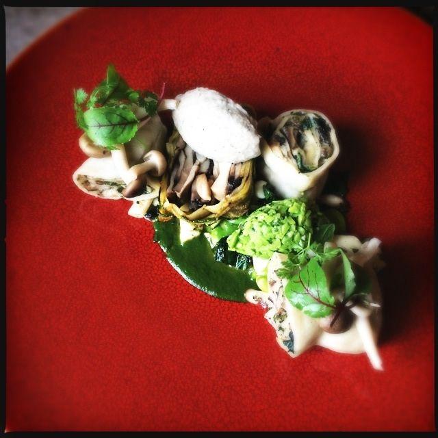 Mushroom Rotolo