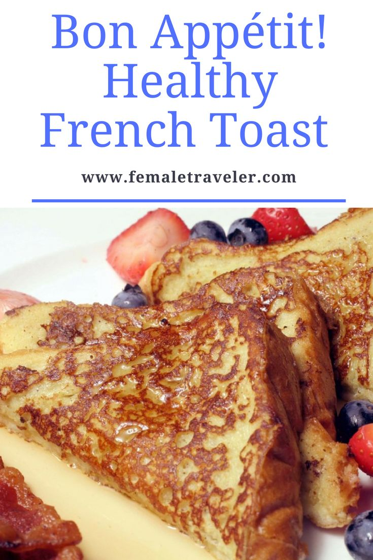 Bon Appétit ! Healthy French Toast *Translation button at the top*