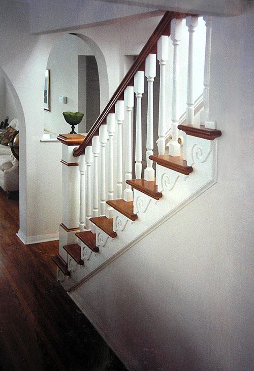 Lovely San Diego Railings, Stairs And Staircases By Stairbuilder Norman Hasenfang.  Serving San Diego, CA For Over 25 Years