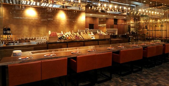 レストラン「けやき坂」 鉄板焼|グランド ハイアット 東京 - 六本木ヒルズ
