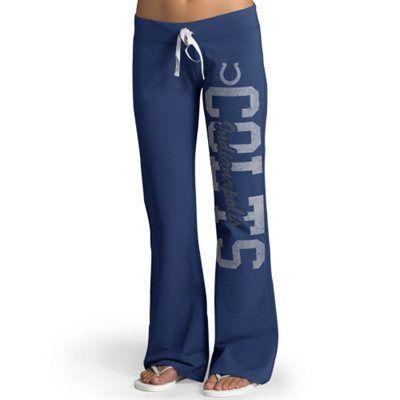 '47 Brand Indianapolis Colts Womens Royal Blue Pep Rally Pants
