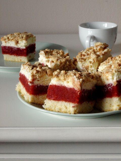 Crispy Biscuits : Odkrycie tygodnia: Ciasto z najlepszą masą truskaw...
