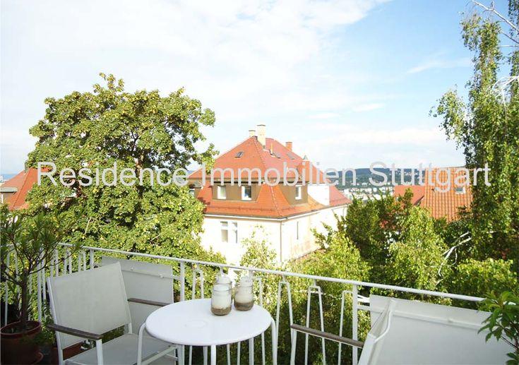 Stuttgart Killesberg: Schöne 2 Zimmer Wohnung mit großem Balkon u. traumhaftem…