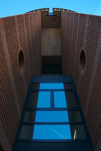 Palazzo Botta. Mario Botta. 1990. Lugano Switzerland.
