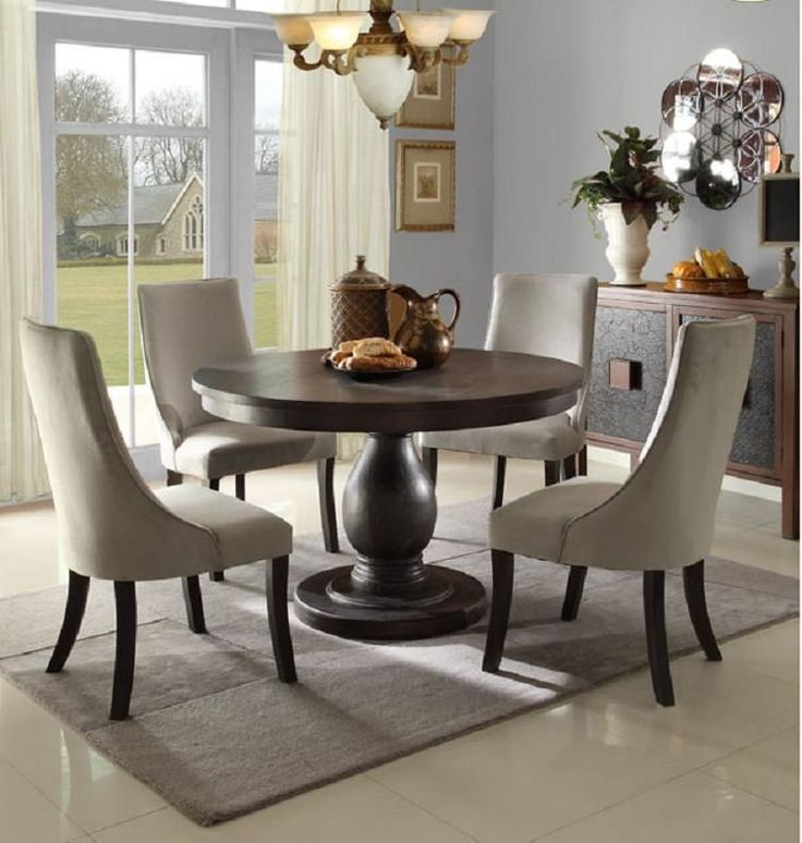 Casual Dining Room Ideas Round Table Stylish Design Casual Dining