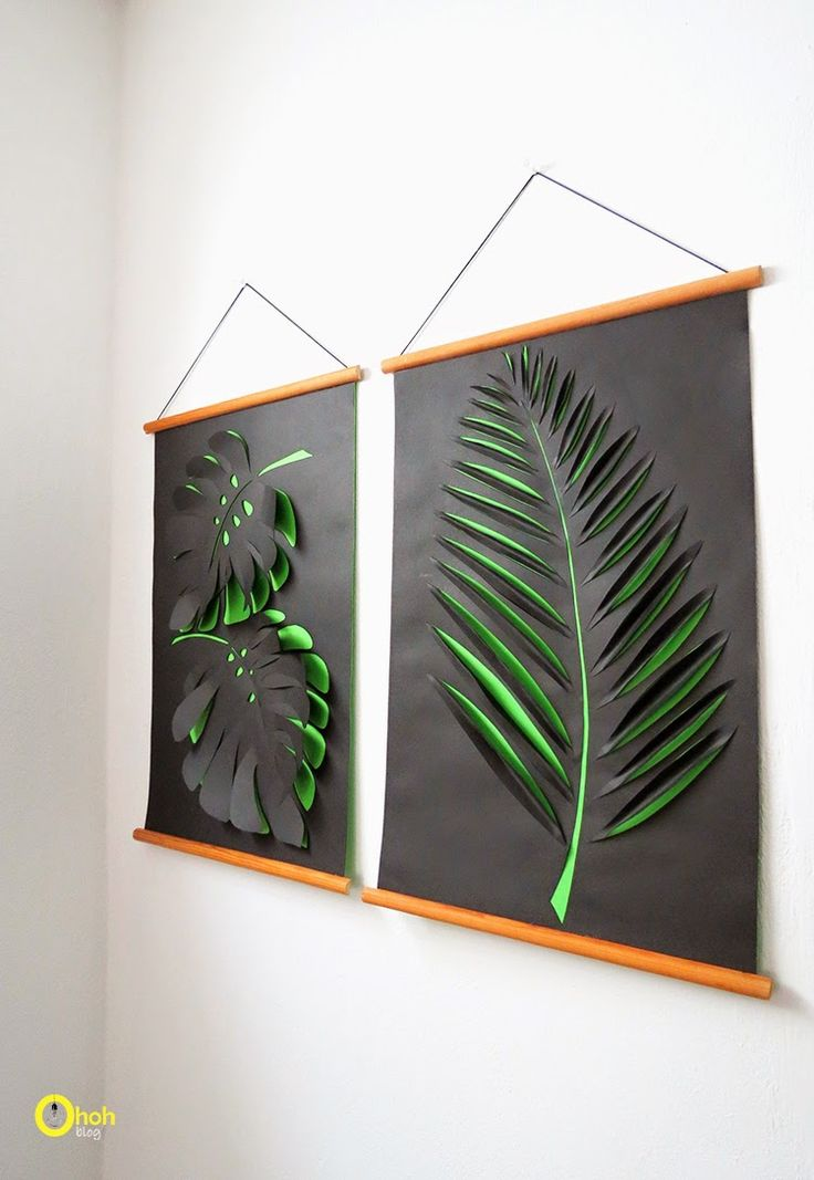 Ohoh Blog - diy and crafts: DIY paper wall art