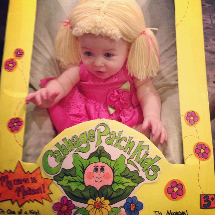 Cabbage patch kids halloween costume baby stuff pinterest costumes kid and halloween costumes for Cabbage patch costumes