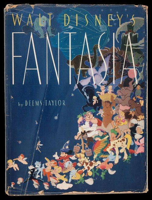 """""""Fantasia""""  Music critic and composer Deems Taylor acts as the film's Master of Ceremonies, who introduces each segment in the live action intervening scenes."""