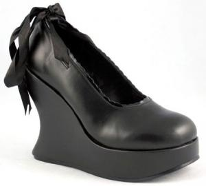 Gothic Ribbon Shoes from Demonia