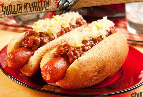 Poached Hot Dog Chili