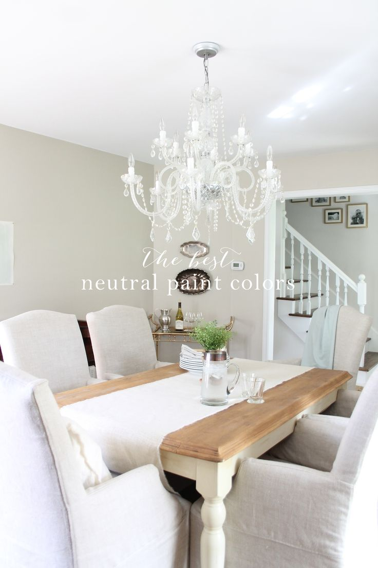 The best neutral paint colors - learn how to pair them for a seamless transition from room to room & get my favorite colors