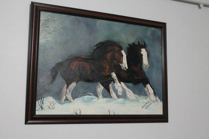 #atlar #paint #oil #paintoil #yağlıboya #tablo #resim