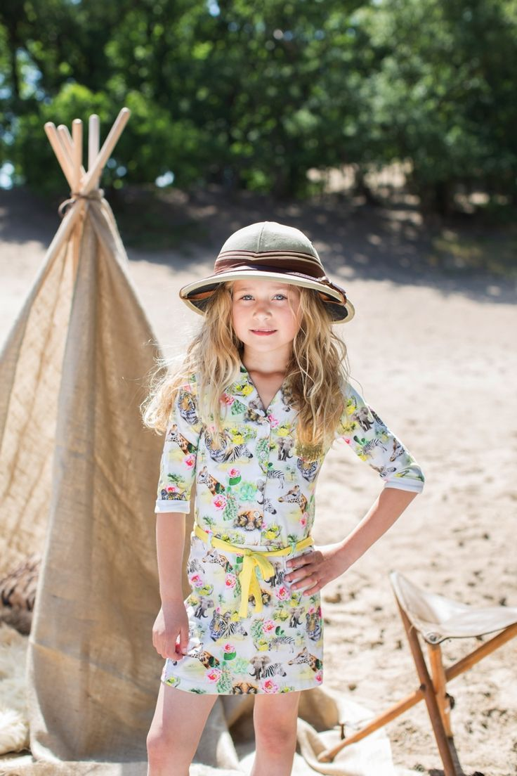 Safari jurk  http://www.4coolkids.nl/Little-Miss-Juliette-mf-56.html