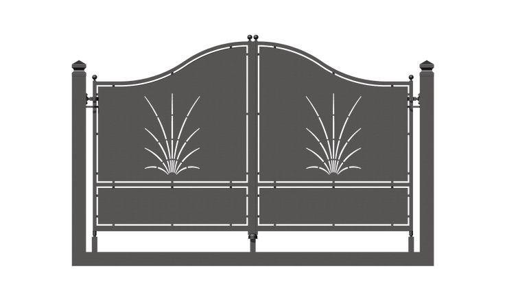 Serie Futura - Barrières et clôtures en fer forgé