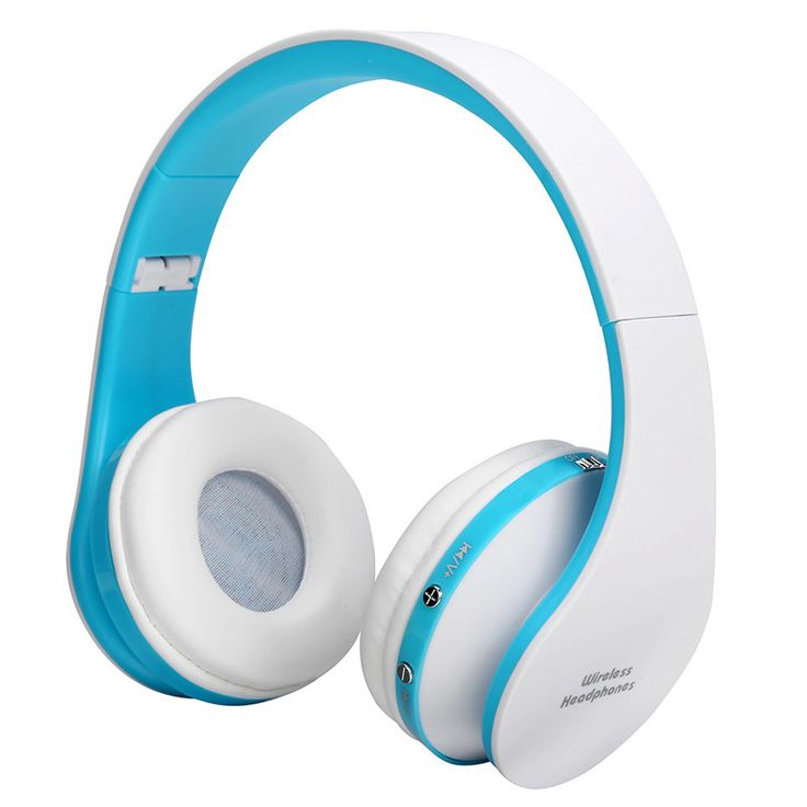 Folding HiFi Deep Bass Earphone Wired / Wireless Stereo Bluetooth Headphone Over-Ear Noise Cancelling Headset With Mic Fashion