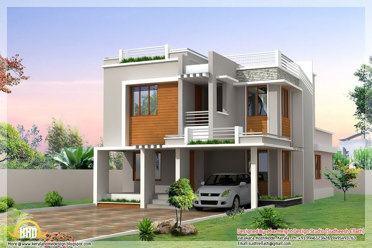 Terrific Modern House Designs In India 90 For Your Online With Modern House Designs In India House Roof Design Indian Home Design Bungalow House Design