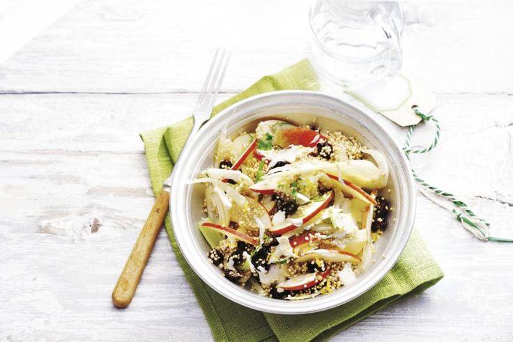 Quinoa-venkel-appelsalade - Recept - Allerhande