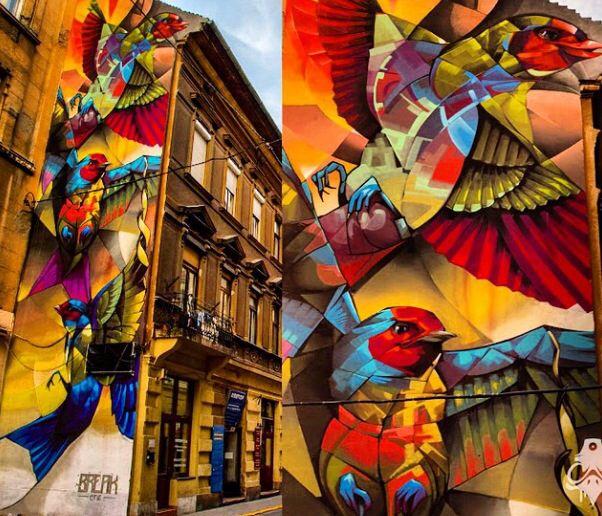 Break One - Budapest, Hungary,  9/14 (detail)...