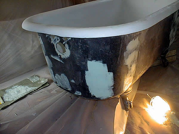 1000 Images About Refinish Clawfoot Tub On Pinterest