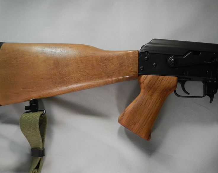 Reproduction genuine teak M76 style grip on a Zastava NPAP.  The wood stock is factory original and the grip finish is several coats of pure tung oil.