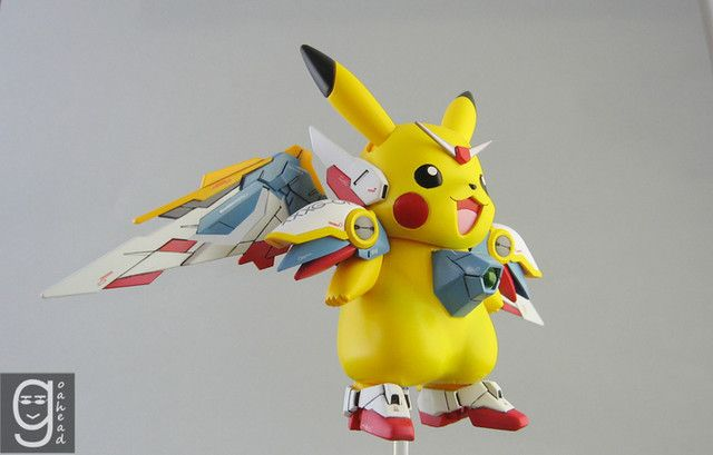 Irsyad's Way: Advances in Science and Modeling Produce Gundam Wing/Pikachu Hybrid