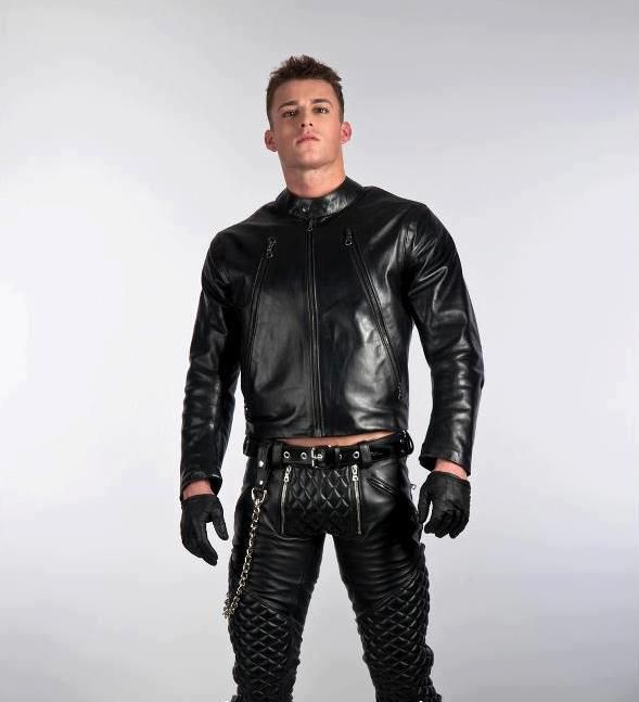 Leather Biker Pants By RoB Or Mr B Leather Things To