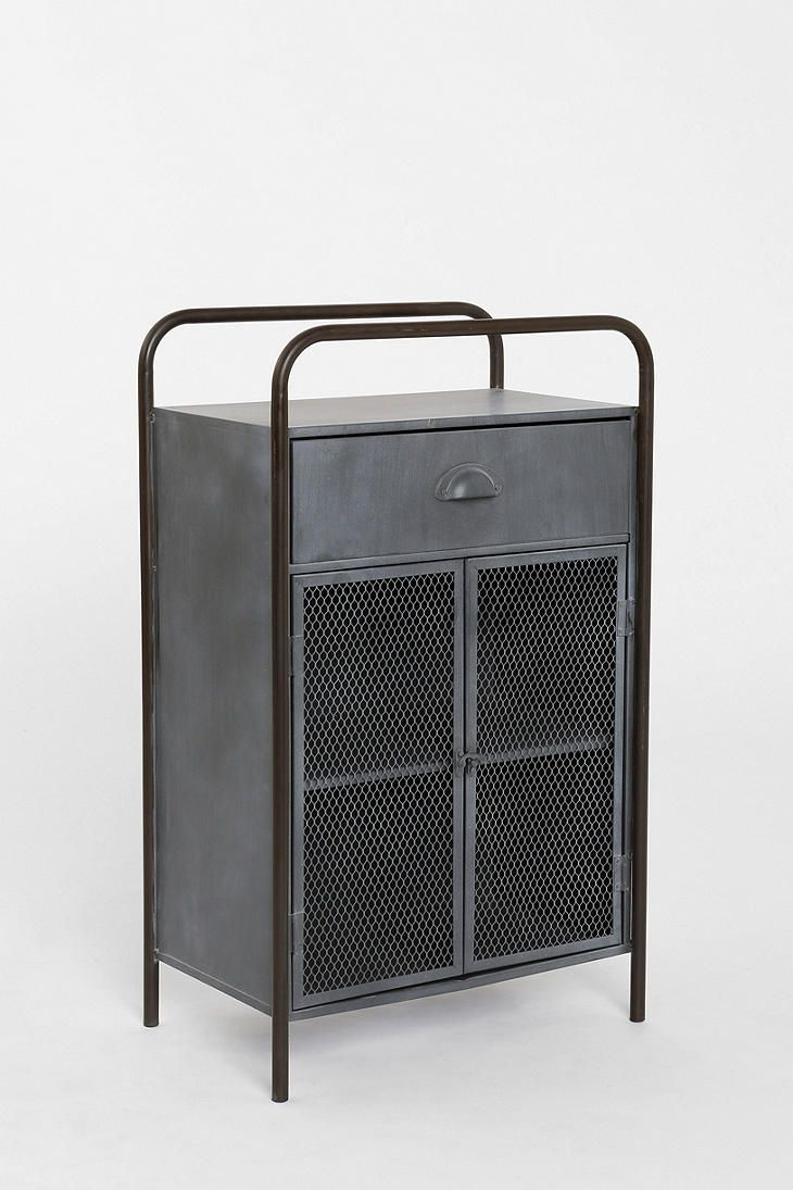 40 40 locust caged metal cabinet urbanoutfitters