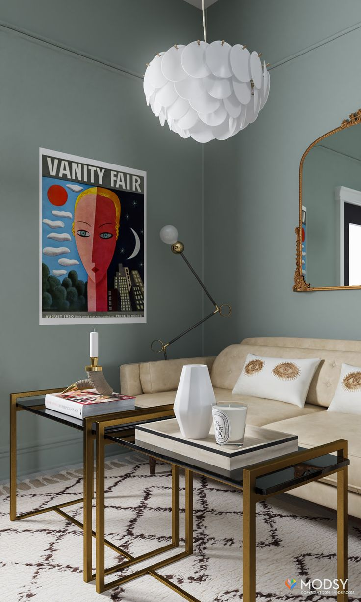 lighting in living room. One Room Two Ways: My (virtual) Living Makeover With Modsy Lighting In