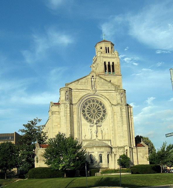 St. Monica Church, Clifton (a neighborhood of Cincinnati, OH)