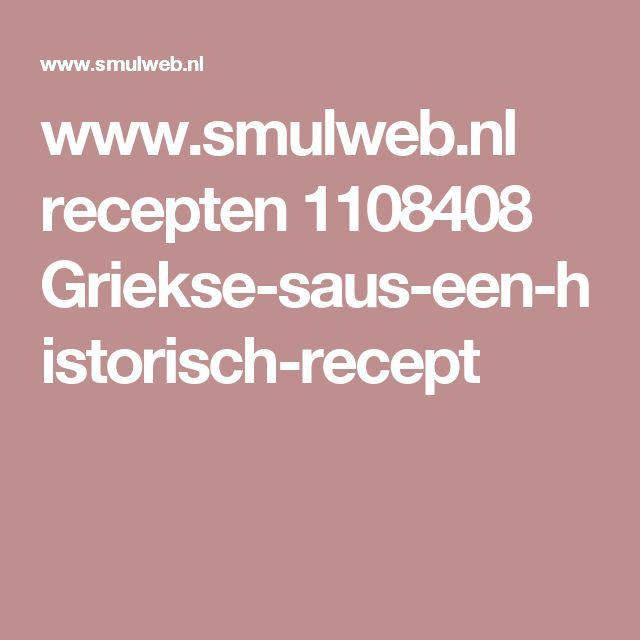 www.smulweb.nl recepten 1108408 Griekse-saus-een-historisch-recept