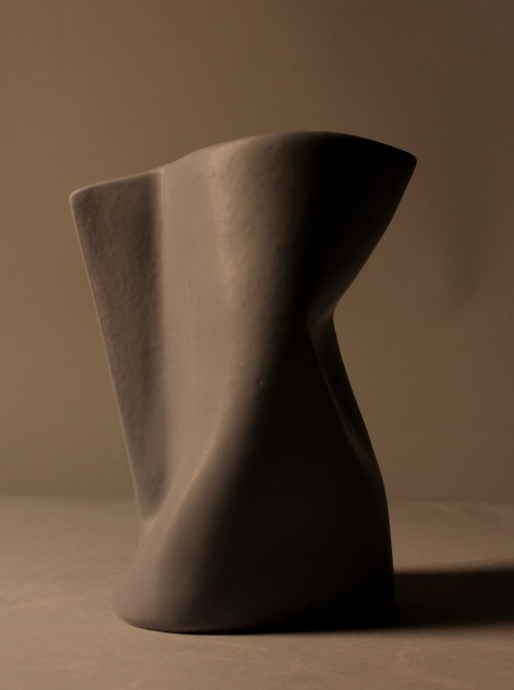 Ceramic container.Ceramic container made by Despina Xenaki.Cast clay – Fired at 1035oC