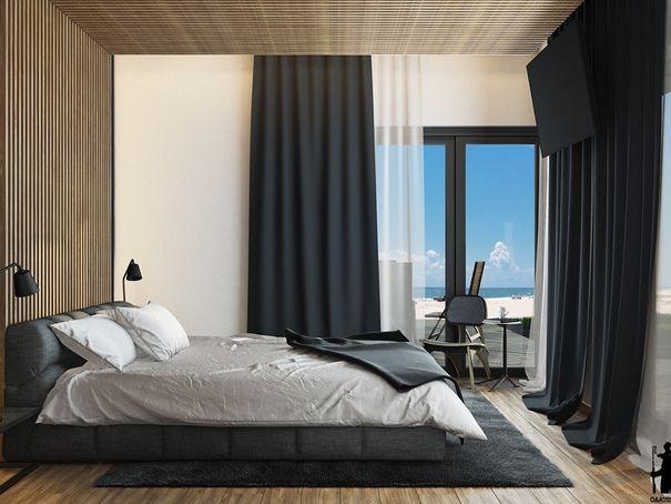 Die besten 25+ Vorhänge hohe Fenster Ideen auf Pinterest hohe - schlafzimmer ideen bilder designs