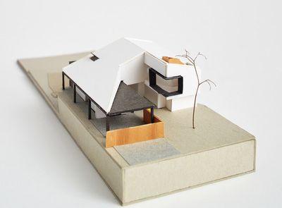 Architectural Model - Nola Avenue House, Scaborough. Philip Stejskal Architecture