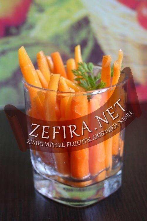 Маринованная морковь-домашние рецепты с фото