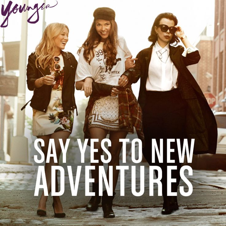 Say yes to new adventures. From the creator of Sex and The City, 'Younger' stars Sutton Foster, Hilary Duff, Debi Mazar, Miriam Shor and Nico Tortorella. Discover full episodes at http://www.tvland.com/shows/younger.