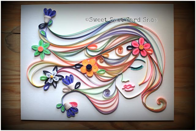 Its when I see beautiful projects like this that I wish I learned the techniques of quilling @ The Sweet Spot