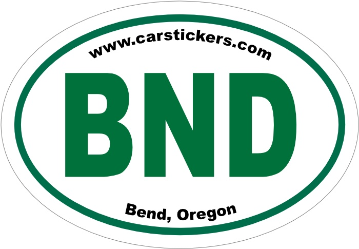 Check out my new bend oregon sticker only 6 00