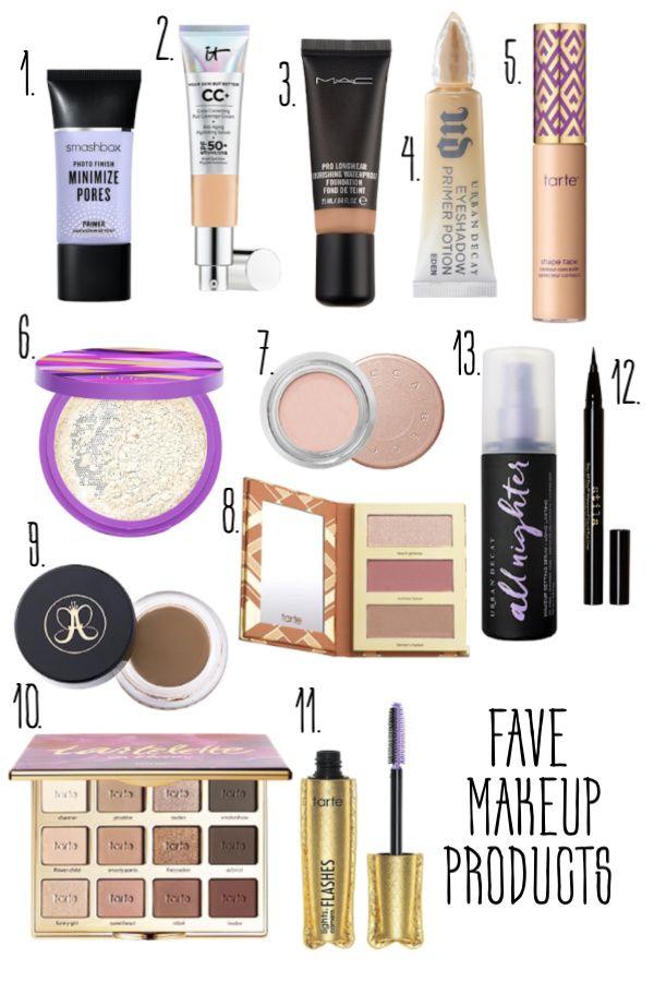 Fave muss Make-up-Produkte haben   – Makeup