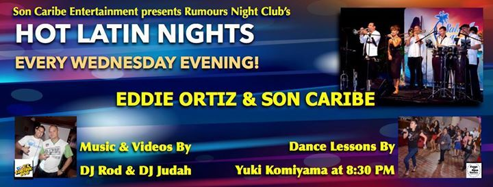Son Caribe - Rumours Night Club's Hot Latin Nights! - http://fullofevents.com/hawaii/event/son-caribe-rumours-night-clubs-hot-latin-nights/