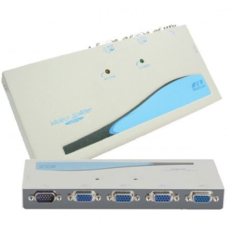 Buy Online Now: 4 Way VGA Splitter VSA14 - Fast Shipping to anywhere in Australia