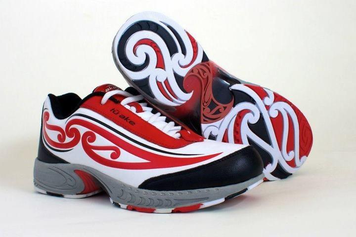 Tu Ake footwear, Australia  Maori design.