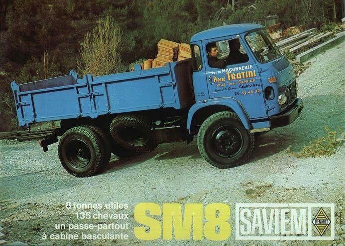 camion saviem renault ben a1970 autocar et camion pinterest. Black Bedroom Furniture Sets. Home Design Ideas
